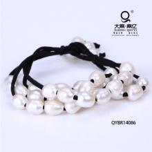 Bracelet tressé à la perle d'eau douce Miansai