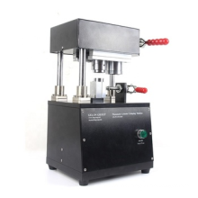 Cylinder Battery Lab Crimping Machine with optional dies for all  32650, 26650, 21700, 18650 Cases Crimping--GN-CC50P