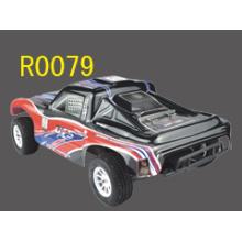 RC Spielzeug für Kinder, 01:10 elektrische Kurzplatz Truck, Rc Auto 4WD gebürstet