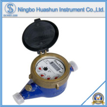 Medidor de água de latão selado líquido Multi Jet