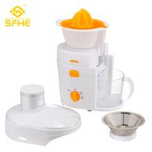 Boîtier en plastique Presse-agrumes haute vitesse pour orange