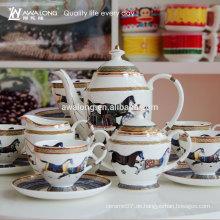 Outlet Printing Keramik Teekaffe-Set, Keramik-Kaffeetasse-Set