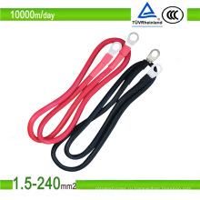 1.5мм2 / 10мм2 фотоэлектрический кабель PV1-F сертификата PV1-F одного сердечника красного цвета PV солнечный TUV