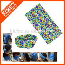 Seamless tube custom multifunctional cheap bandanas for head