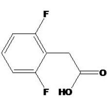 2, 6-дифторфенилуксусная кислота № КАС: 85068-28-6