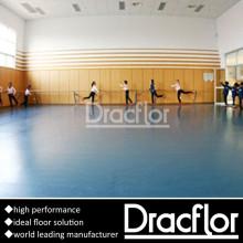 Pavimento de vinil de sala de dança para balé