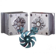 Make computer cooling fan plastic injection part
