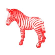 Venta caliente de la fábrica Eco-Friendly El mejor vinilo del bebé Customed Plastic New Zebra Toys