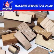 Ferramentas de corte de diamante Segmento sanduíche para corte de mármore (HZ290)