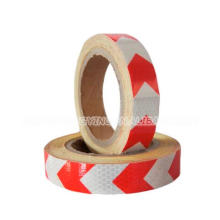 High Visible Cellular Rot und Weiß PVC Warnband