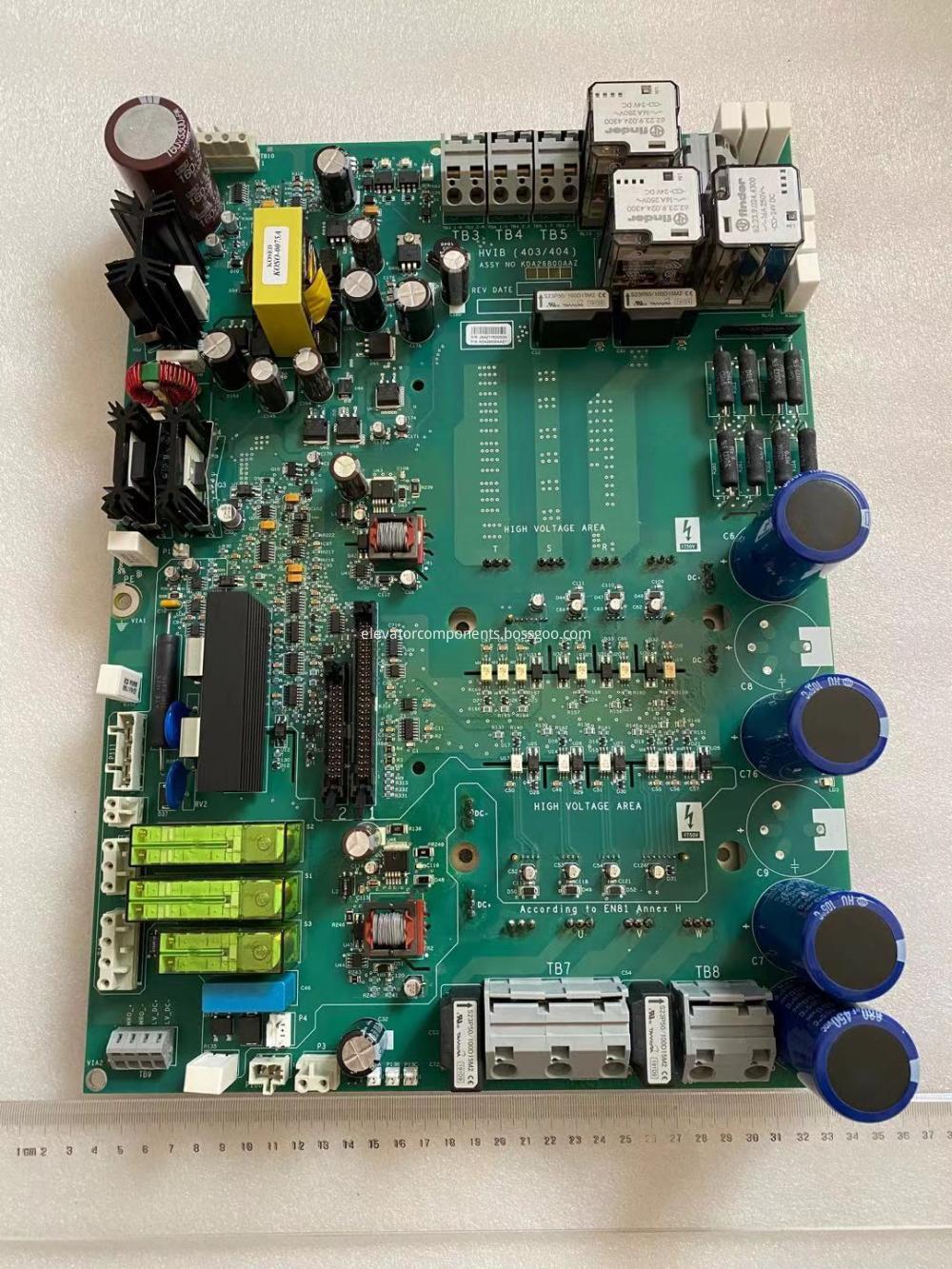 KDA26800AAZ1 PCB Assembly for OTIS Elevator OVFR2B-403 Drive