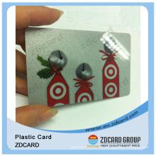 Cartes d'adhésion en plastique / carte de visite en PVC / cartes d'impression offset