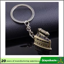 Сплав цинка keychain сувенира с электрическим утюгом