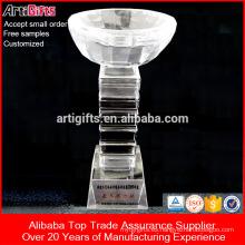 Trofeo de producto profesional Trofeo de cristal personalizado