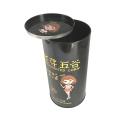 Seed Tin Can Easy Open Lid Boîte en étain en métal en gros