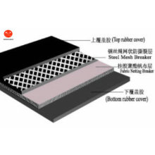 Laceration beständiges Stahlmaschen-Förderband