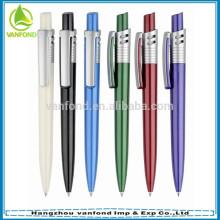 Promotion custom logo printed ballpoint pens with german ink