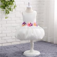Дети Девочки Малыша Принцесса Платье Бант Цветок Ну Вечеринку Туту Платья Без Рукавов