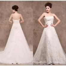A Line Lace Bridal Wedding Dress Xz1521