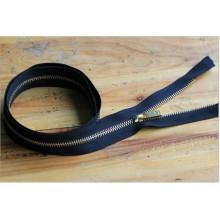 Article: 3 # 60cm Open End Metal Zipper, Automatic Lock