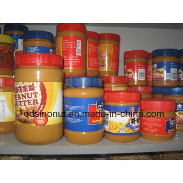 340г Хрустящее арахисовое масло Природный низкий сахар и жир