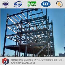 Structure en acier de grande hauteur pour immeuble de bureaux