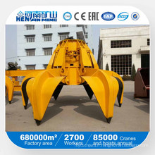 Chine Henan Mine Crane Grab Bucket Bucket