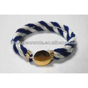 Bracelet de mode Bracelet à bouton Bracelet à cordes Fabrique & Fournisseurs & Usine