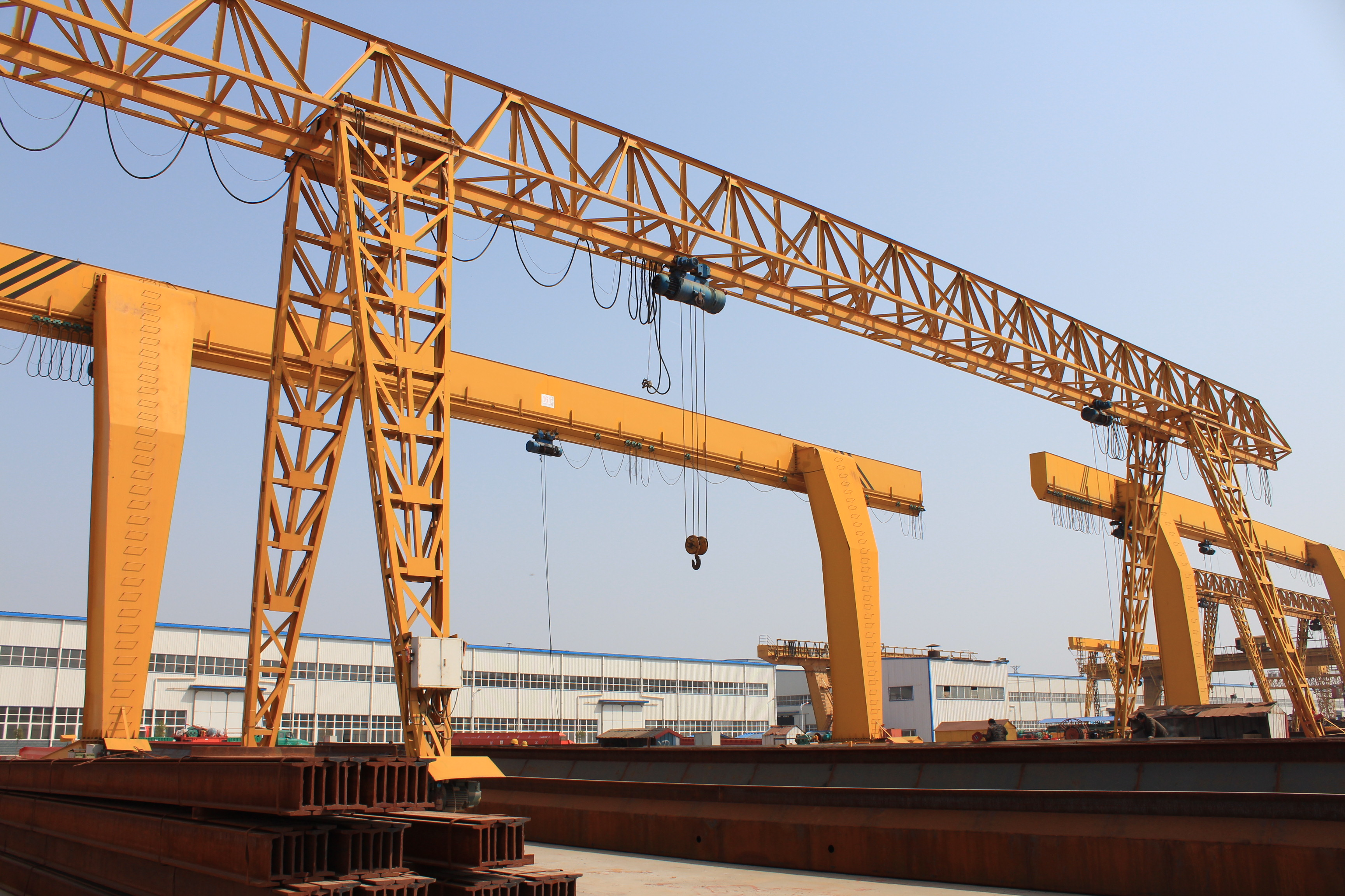 Single Girder Mounted Gantry Crane