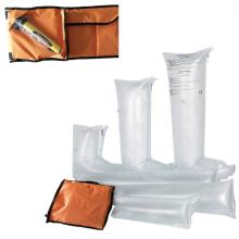 Inflatable first aid air splint set
