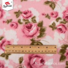 Tissu Polyester Spandex Rayonne Confortable Populaire Imprimé