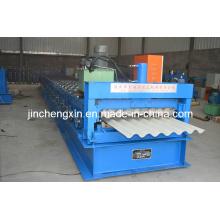 Автоматическая гальванизированная машина для производства кровельных листов из стали, окрашенных алюминием
