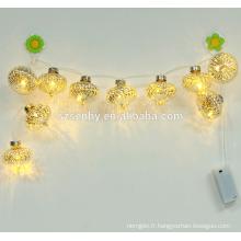 Feu de Noël à LED, lumières de Noël décoration extérieure