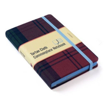 PURPLE CLOTH COVER NOTEBOOK-0