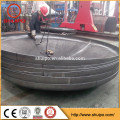 Cold pressing one-time forming ellipsoidal dished head for storage tank