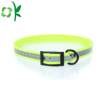 Pet chống thấm Bite kháng Silicone Durable Dog Collar