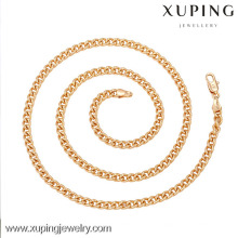 42590-Xuping Jewelry Fashion High Quality y nuevo diseño Chians Necklace