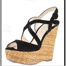 New Style of Wedge Women Sandals (HS13-107)