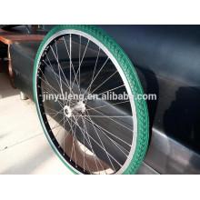 rueda de bicicleta de espuma PU para silla de ruedas