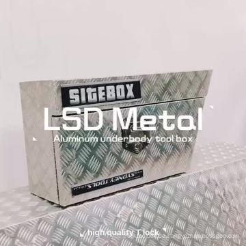 UTE-Werkzeugkiste aus Aluminium-Checker Plate-Unterbodenstahl