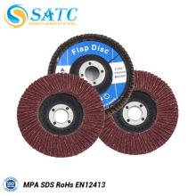 Alta qualidade de longa duração flexível Abrasivos Flap Discs fabricante