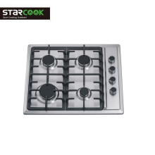 4 Burner Gas Stove Cooker with Stainless Steel top