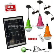 emergencia portable recargable solar de mejor calidad led luz casera (JR-SL988B)