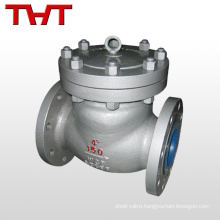 stainless steel 3 swing din 250lb swing membrane check valve for water