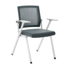 Grey frame stackable meeting room chair for beautiful office