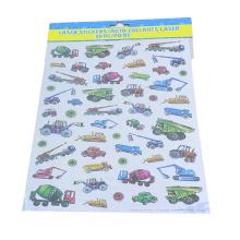 Caminhão engraçado dos desenhos animados para crianças home decor decalque adesivos de vinil
