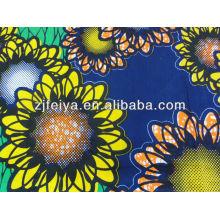 Nueva tela impresa cera africana de alta calidad del algodón del diseño del nuevo diseño 2014