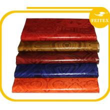 Tissu africain traditionnel de robe de mode de brocart de la Guinée Boubou pour des textiles de coton de partie