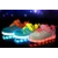 Unisex Children USB Charging light Flashing Sneakers LED Shoes