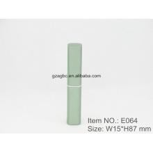 Slender & à la mode en forme de stylo en aluminium rouge à lèvres Tube E064, taille de tasse 8,5 mm, couleur personnalisée